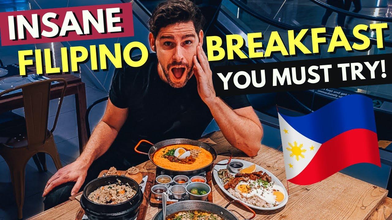 INSANELY good FILIPINO BREAKFAST you MUST TRY! - Lugaw, Tapsilog,...