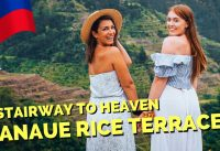Breathtaking RICE TERRACES in BANAUE - Foreigners first reaction