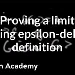 Formal definition of limits Part 4: using the definition   AP Calculus AB   Khan Academy