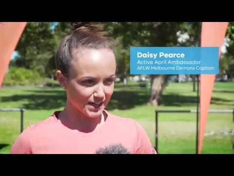 Active April Ambassadors Daisy Pearce & Katie Brennan (video)