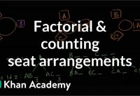 Factorial and counting seat arrangements   Probability and Statistics   Khan Academy