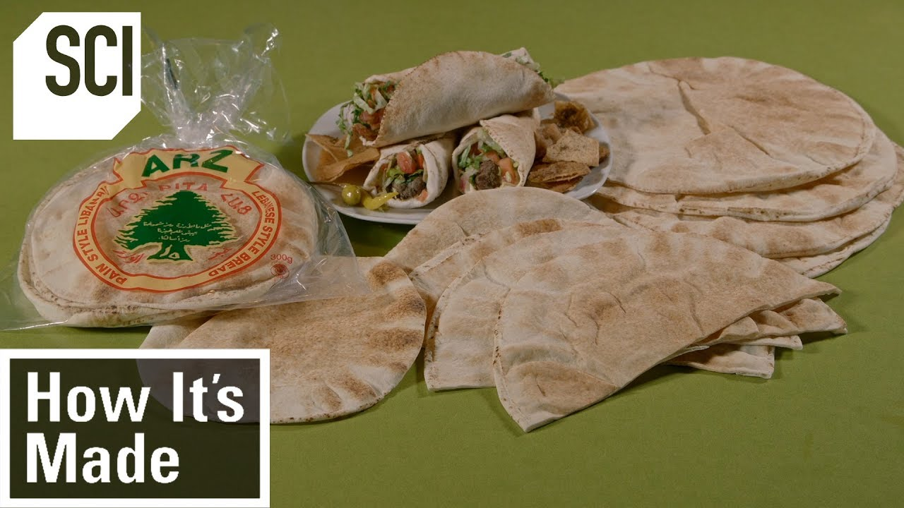 How To Make Pita Bread | How It's Made