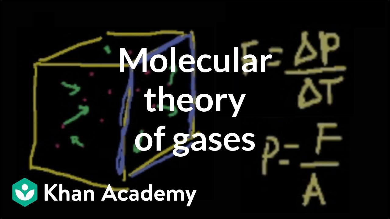 Thermodynamics part 1: Molecular theory of gases | Physics | Khan Academy