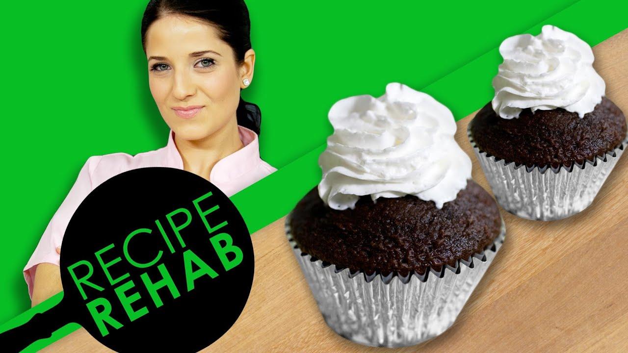 Laura Vitale's Dairy-Free Chocolate Cupcakes I Recipe Rehab I Everyday Health
